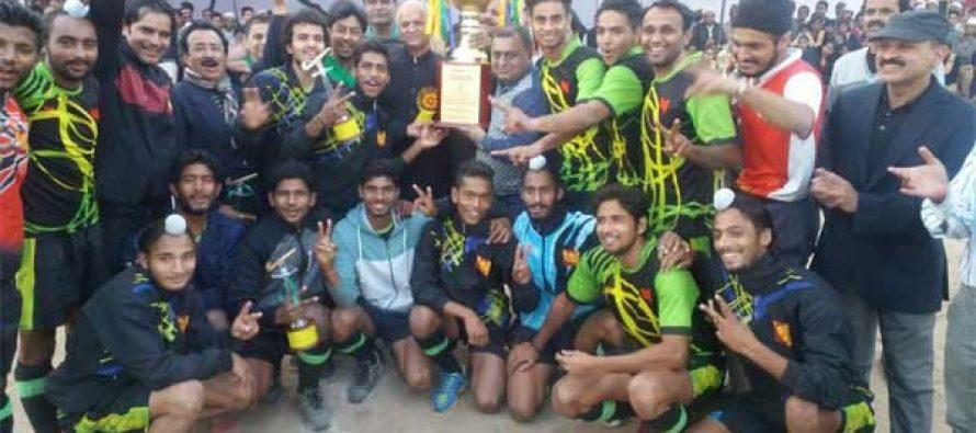 PNB Hockey Team wins Athhar Khan Gold Cup Hockey