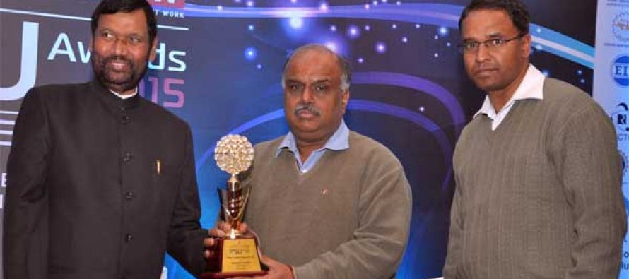 PFC conferred with 'Governance Now PSU Award 2015'