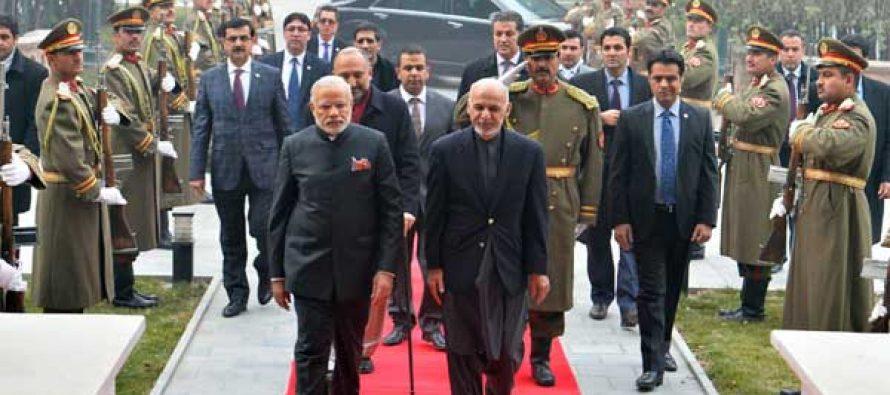 Modi, Ghani inaugurate new parliament building in Kabul