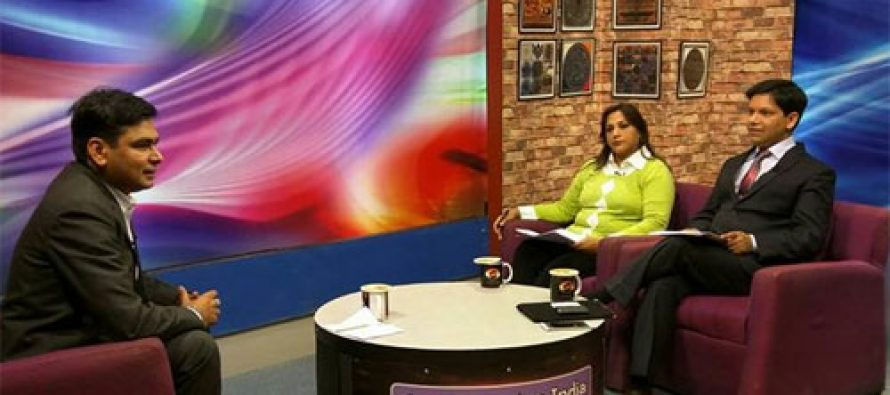 """Sarkaritel.com CEO & Editor-in-Chief, Ameya Sathaye particitapating in Panel Discussion on """"Cyber Security """" Doordarshan Good Evening India Live Show"""