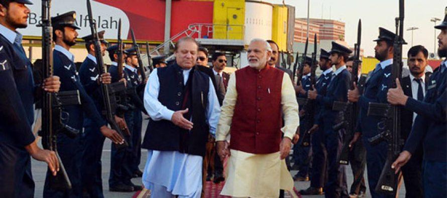Modi's Pakistan visit makes a splash in US media