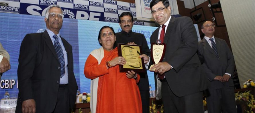 BHEL adjudged the Best Power Equipment Manufacturing Organisation