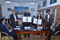 Rajendra Chaudhari, Director (Commercial), NBCC and Dr. Preeti Srivastava, Joint Secretary, Ministry of Tourism
