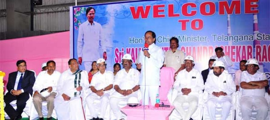 Kakatiya Thermal Power Project dedicated to the nation
