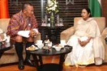 Mamata meets Bhutan PM in Kolkata