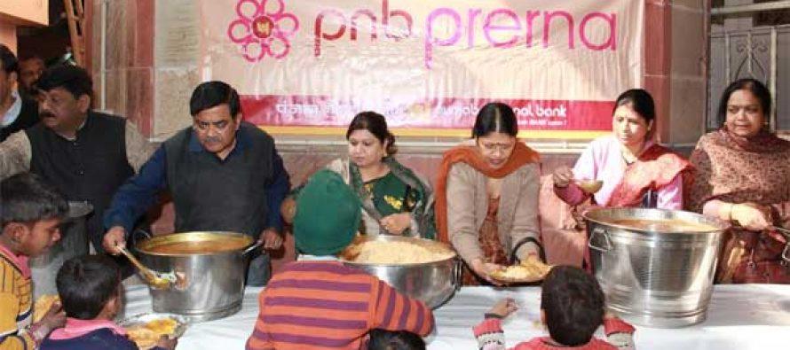 PNB Organised Anna Dan Sewa