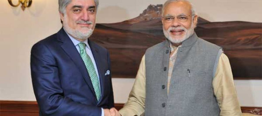 Modi reiterates India stand for building peaceful Afghanistan