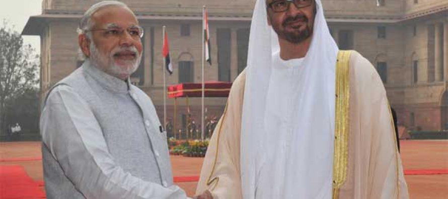 Modi, Abu Dhabi crown prince hold restricted meeting