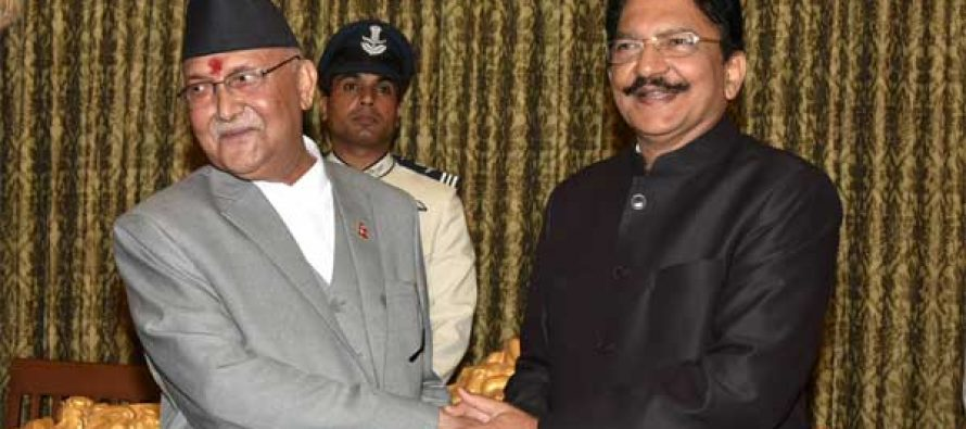 Nepal PM gets warm welcome in Mumbai
