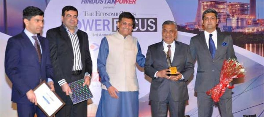 PFC Felicitated for Remarkable Contribution in the Power Sector