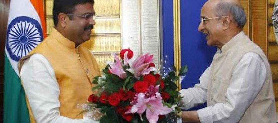 India's Petroleum Minister Dharmendra Pradhan holds bilateral meeting with Sri Lanka on energy issues