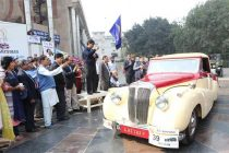 CMD, NBCC And Air Chief Marshal Flagged-Off 50th statesman Vintage & Classic Car Rally