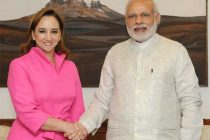 Secretary of Foreign Affairs (Foreign Minister), Mexico, Claudia Ruiz Massieu calls on the Prime Minister, Narendra Modi