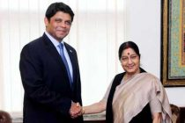External Affairs Minister meets Aiyaz Sayed Khaiyum, Attorney-General and Minister of Finance of Fiji in New Delhi.