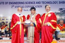CMD, BHEL felicitated at IIEST Shibpur convocation