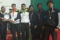 REC wins Medals at Inter-CPSU Badminton Tournament
