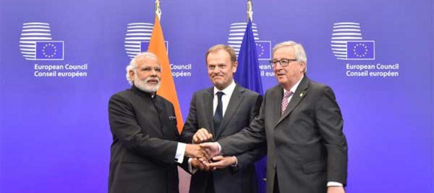 EU, India agree to strengthen strategic partnership