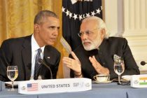 Prime Minister, Narendra Modi at the dinner hosted by the President of United States of America (USA), Barack Obama