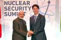 Prime Minister, Narendra Modi meeting the Prime Minister of Canada, Justin Trudeau, on the sidelines of the Nuclear Security Summit 2016