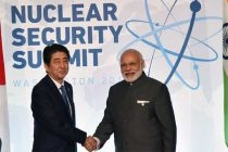 The Prime Minister, Narendra Modi meeting the Prime Minister of Japan, Shinzo Abe, on the sidelines of the Nuclear Security Summit