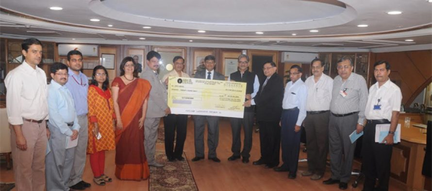 NVVN Pays Dividend to NTPC
