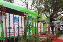 M Venkaiah Naidu, UD Minister, Inaugurates NBCC Implemented NAMMA Model Public Toilet