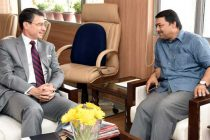 German Ambassador to India, Dr. Martin Ney meeting the Secretary, Ministry of Water Resources, River Development