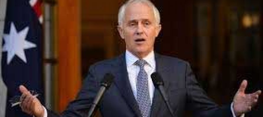 Australia PM confirms early election plan