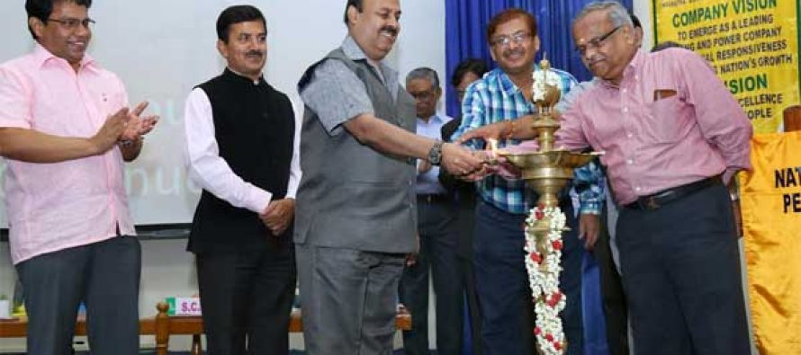 """CMD, NLC, inaugurated the Two day National Seminar on  """"Best HR Practices"""""""
