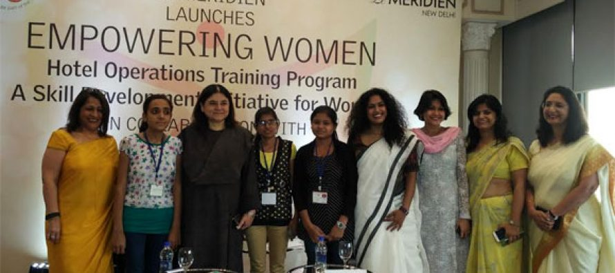 Le Meridien with NGO takes Initiative to train underprivileged women
