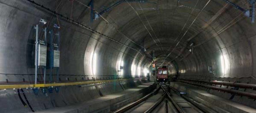 Longest railway tunnel to be inaugurated in Switzerland
