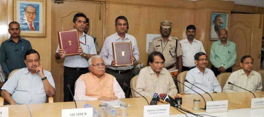 Railways signs MoU with Haryana for joint venture company