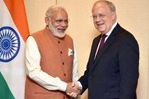 With NSG, black money on agenda, Modi meets Swiss President