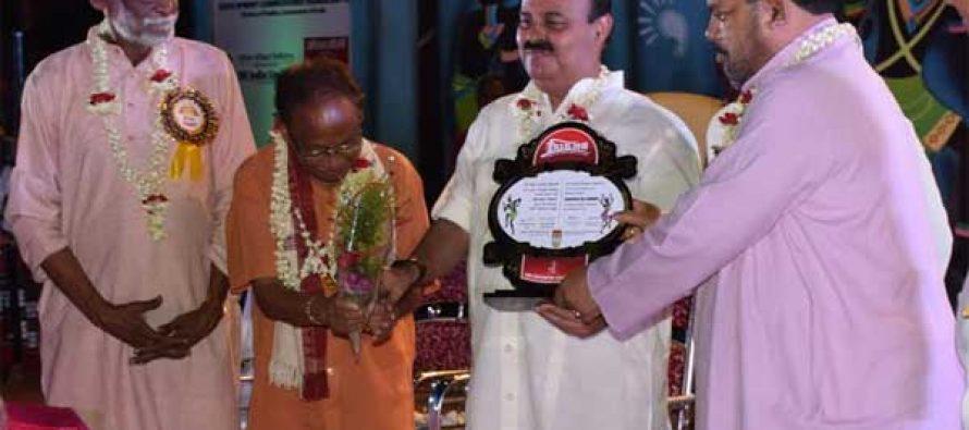 Sarat Kumar Acharya CMD, NLC honoured with Shrikshetra Samman-2016 Award