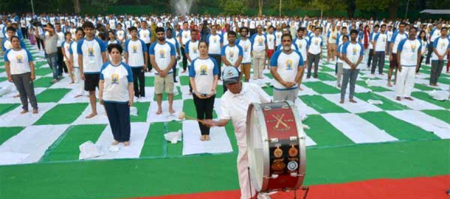 Make yoga integral part of life: Mukherjee