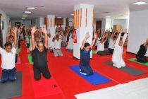 DVC celebrated International Day of Yoga