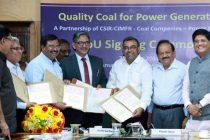 Minister for Science & Technology and Earth Sciences, Dr. Harsh Vardhan and the MoS (IC) for Power, Coal and New and Renewable