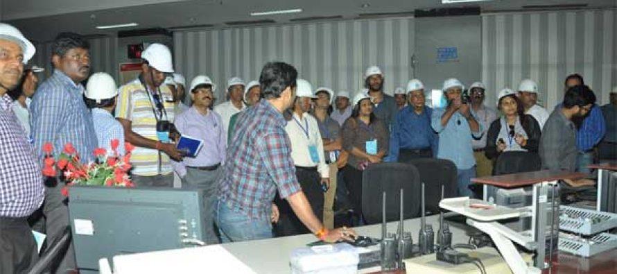 Sri Lankan Media persons visit NTPC Dadri