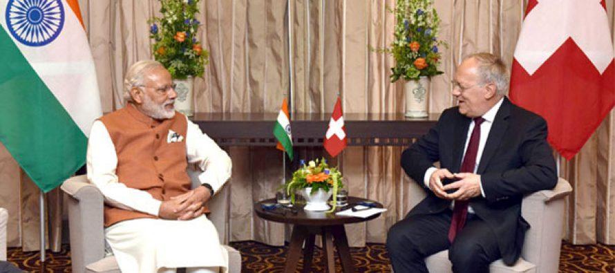 PM Modi thanks Switzerland for supporting India's NSG membership