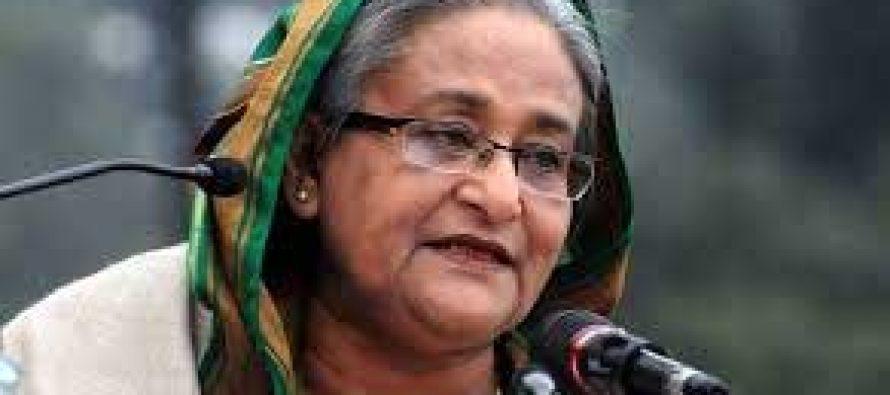 Bangladesh PM pays homage to Dhaka cafe attack victims