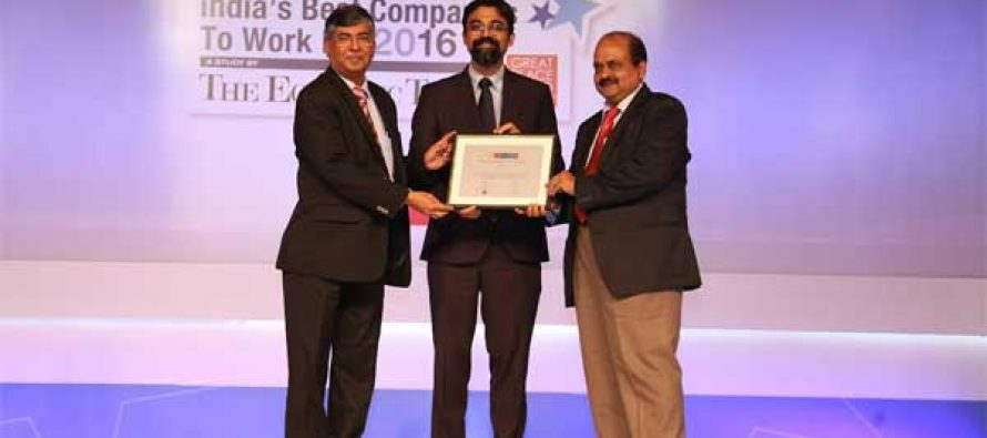 NTPC bags Best Company to work for 2016 amongst PSUs