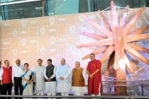 World's largest spinning wheel inaugurated at Delhi airport