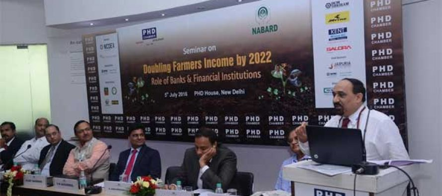 """PNB participating as Panelist in a seminar """"Doubling Farmers Income by 2022- Role of Banks & Financial Institutions"""""""