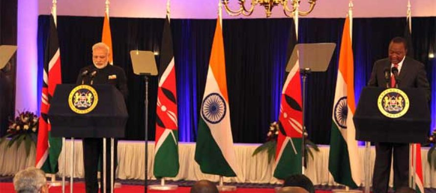 Kenya valued partner of India, says Modi