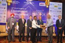 Golden Peacock Award conferred on NLC