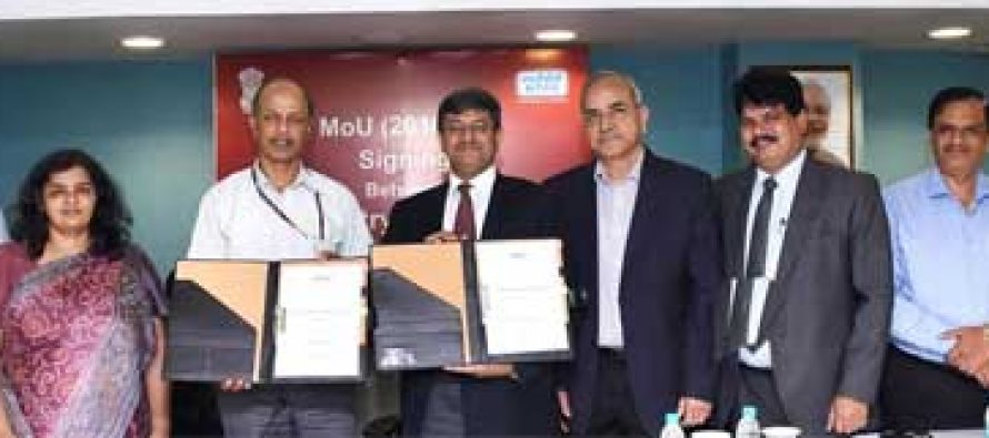 NTPC signs MOU 2016-17 with Govt. of India