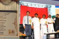 MoS(I/c), MoP&NG unveils Golden Jubilee Stupa and inaugurates Mounded Bullet facilities