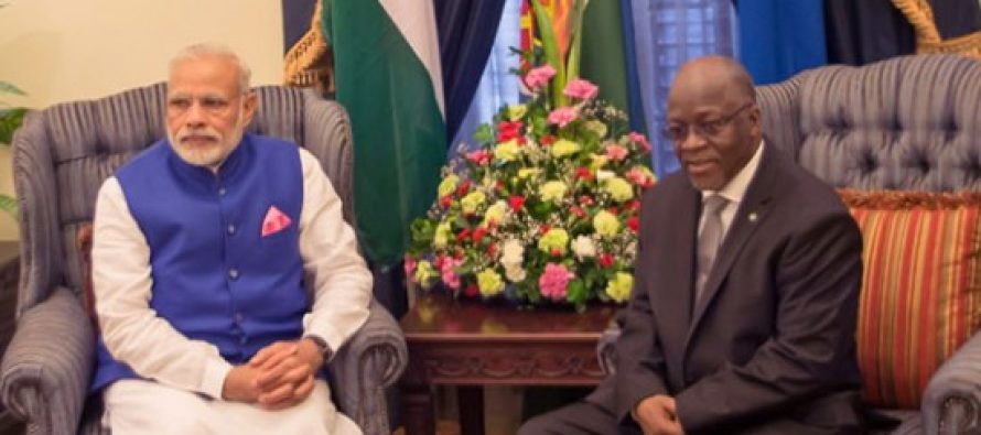 India, Tanzania to boost food, energy security cooperation
