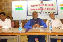Efforts to promote the basic values of respect towards elders and remain one with roots