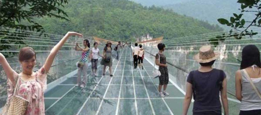 World's highest glass bridge to reopen in October